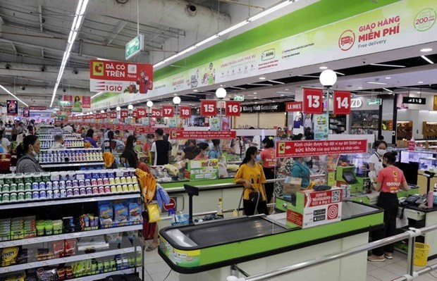 HCM City's retail market vibrant despite COVID-19 hinh anh 1