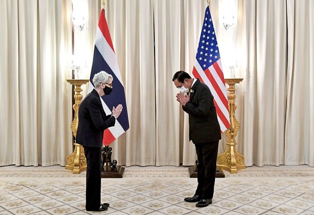 US, Thailand vow to strengthen cooperation hinh anh 1