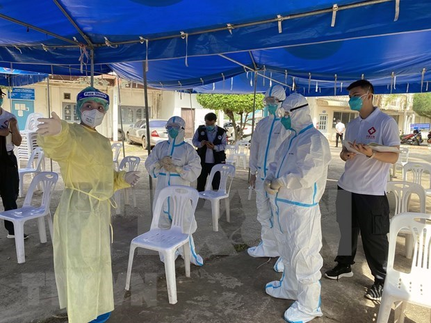 Laos, Thailand work to curb spread of COVID-19 hinh anh 1
