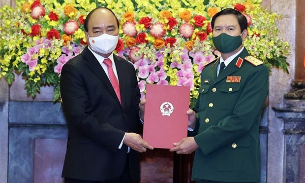 New Chief of General Staff of Vietnam People's Army appointed hinh anh 1