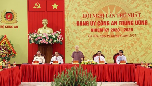 Politburo's appointment of Central Public Security Party Committee announced hinh anh 1