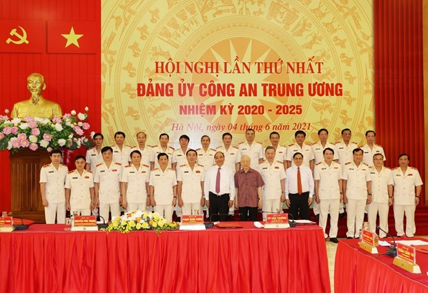 Politburo's appointment of Central Public Security Party Committee announced hinh anh 2