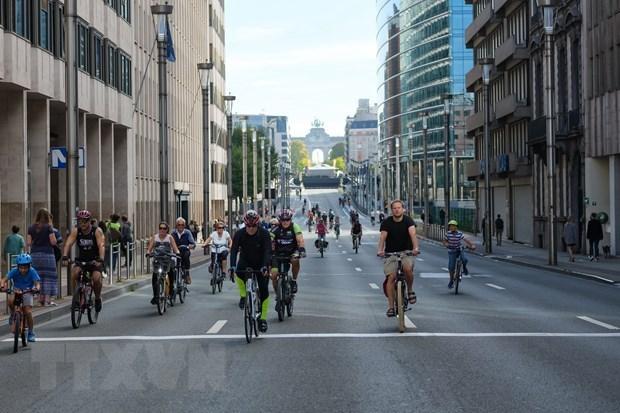 Jakarta plans to build 578km bike lanes hinh anh 1