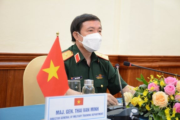 Vietnam joins online conference on Army Games preparations hinh anh 1