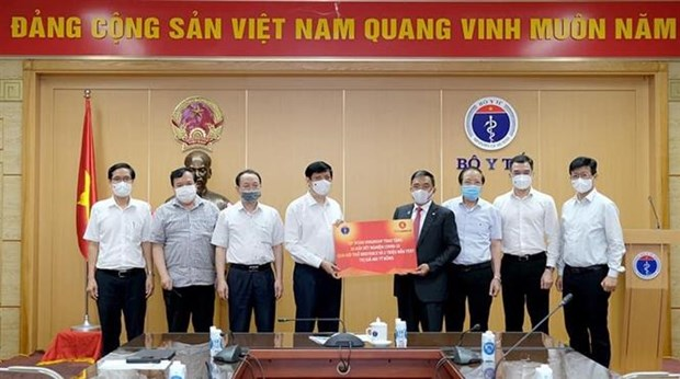 Vingroup to present COVID-19 breath testing system to Health Ministry hinh anh 1