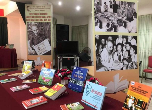 Thư viện Hà Nội Trưng bày Tư liệu về Chủ tịch Hồ Chí Minh Hinh Anh 1
