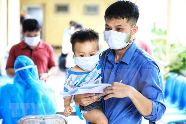 Bac Giang: Children under five allowed to be quarantined at home hinh anh 1