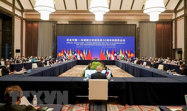 Vietnam attends Special ASEAN-China Foreign Ministers' Meeting hinh anh 1