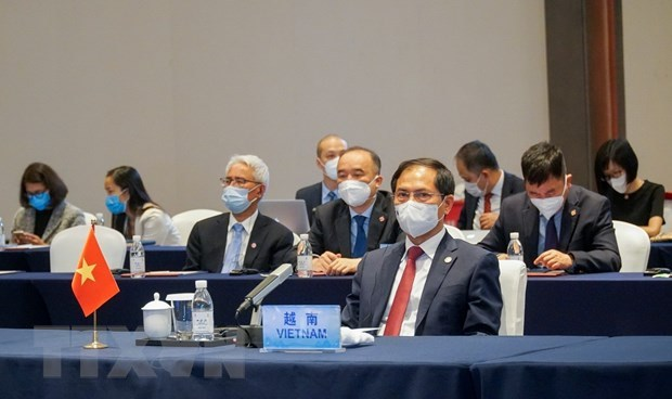 Vietnam attends Special ASEAN-China Foreign Ministers' Meeting hinh anh 2