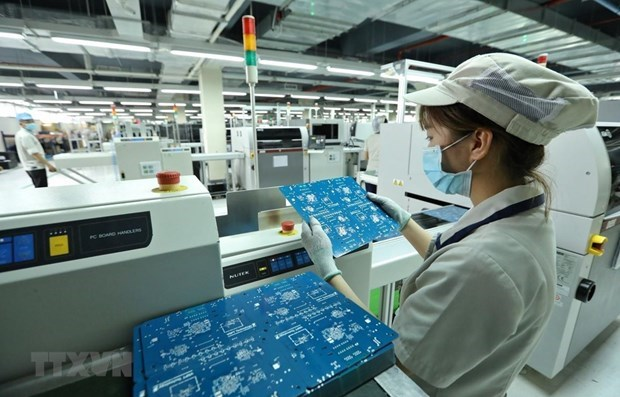 Kien Giang's industrial production value rises over 7 percent in five months hinh anh 1