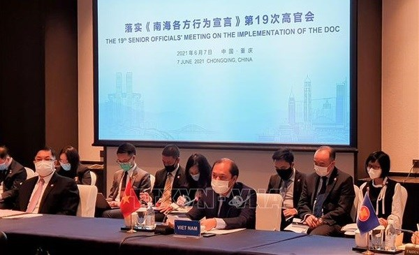 Vietnam calls for serious implementation of DOC at ASEAN-China SOM hinh anh 1