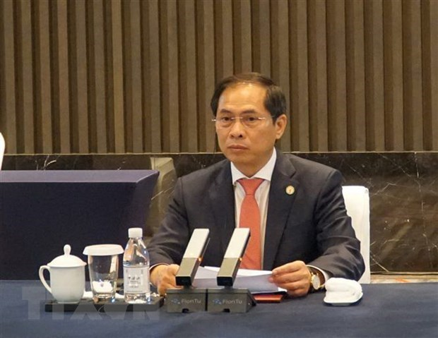 Vietnam attends 6th Mekong-Lancang Cooperation Foreign Ministers' Meeting hinh anh 1