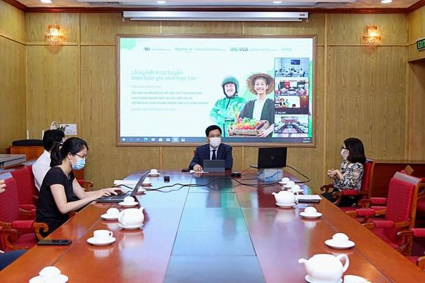 Deal signed to promote farm produce sale via digital platforms hinh anh 1