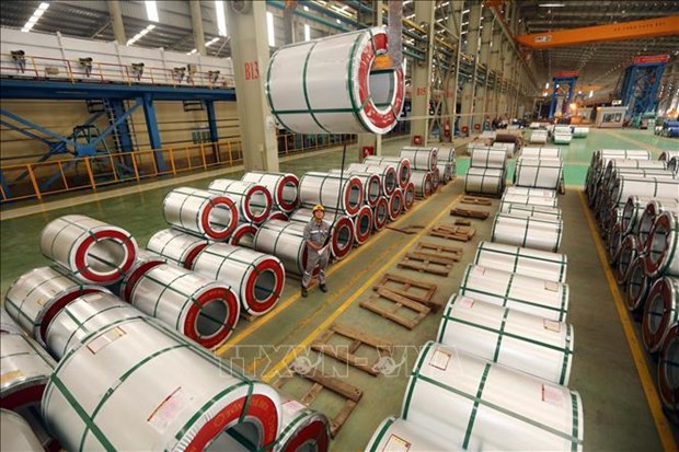 End-of-term review of anti-dumping measures on imported galvanized steel hinh anh 1
