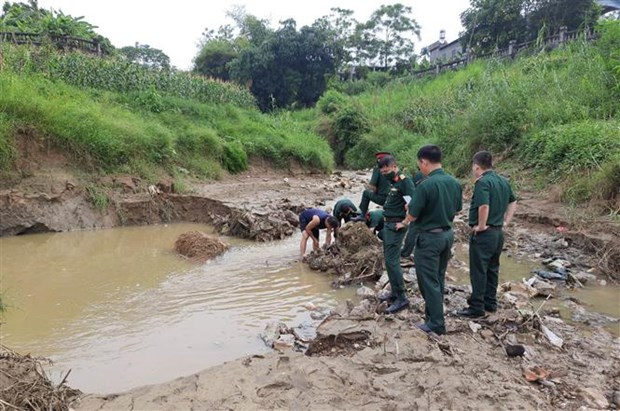 Large bombs discovered in Tuyen Quang hinh anh 1