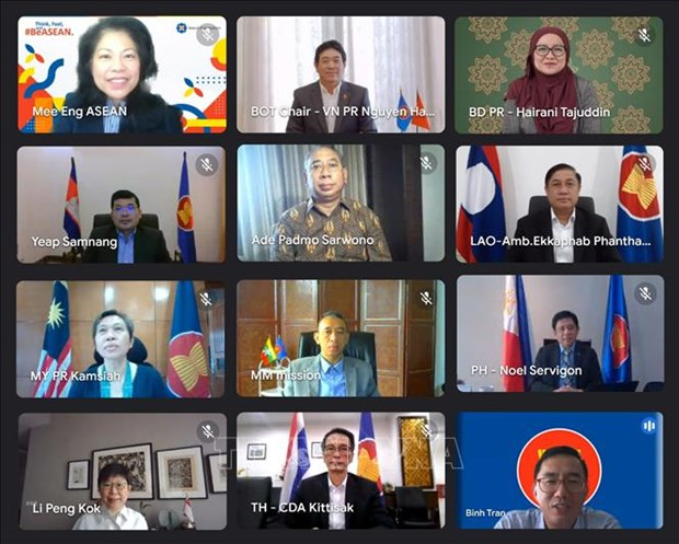 Vietnam chairs 46th meeting of Board of Trustees of ASEAN Foundation hinh anh 1