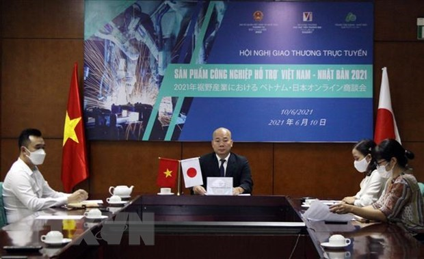 Conference links Vietnamese, Japanese firms in supporting industries hinh anh 1