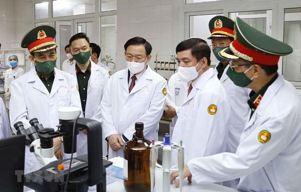 NA Chairman visits Military Medical University hinh anh 1