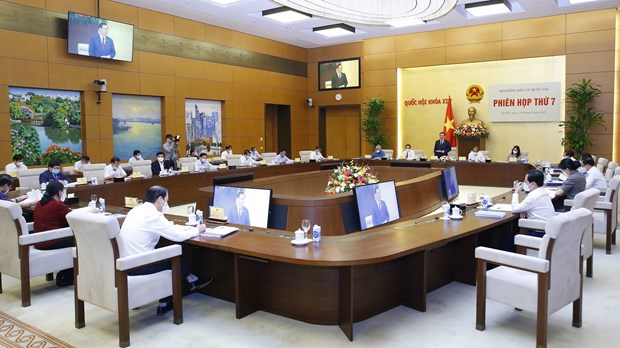 Resolution announcing results of NA election, list of elected deputies approved hinh anh 1