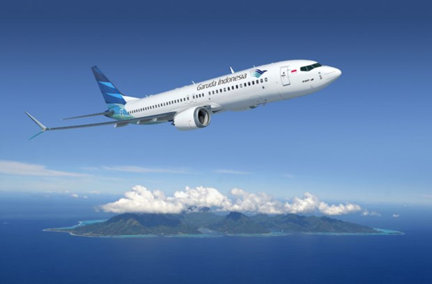 Garuda Indonesia grounds two-thirds of fleet hinh anh 1