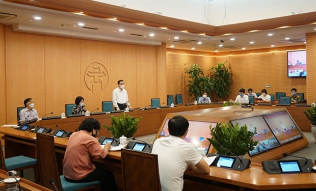 Hanoi prepares for high school entrance exams amid pandemic hinh anh 1