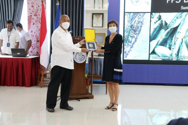 Indonesia, France cooperate in building environmentally friendly fishing ports hinh anh 1