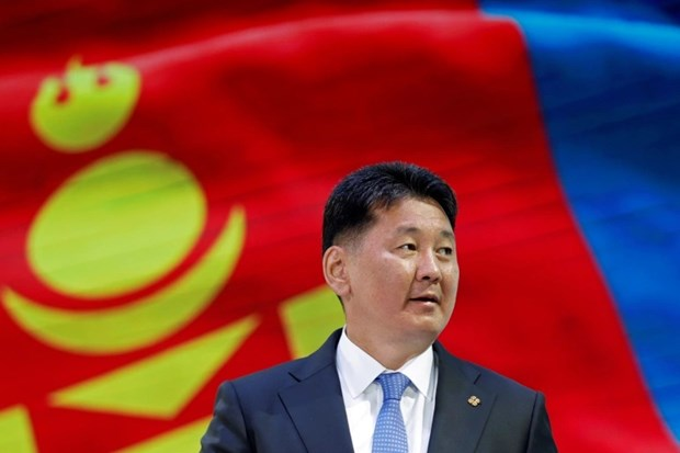 Congratulations to new Mongolian President hinh anh 1