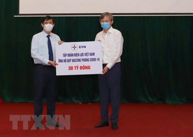 Donations to COVID-19 vaccine fund amount to 5.08 trillion VND so far hinh anh 1