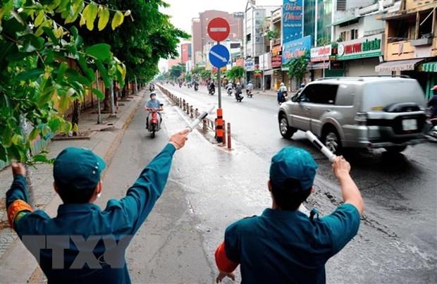 HCM City extends social distancing measures until June 30 hinh anh 1