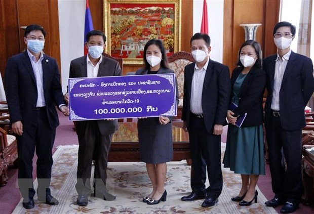 Lao province supports Hai Duong's COVID-19 response efforts hinh anh 1