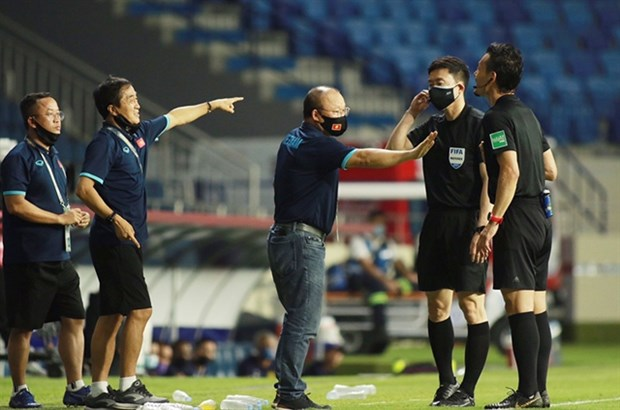 Absent Park confident ahead of crunch UAE match hinh anh 1