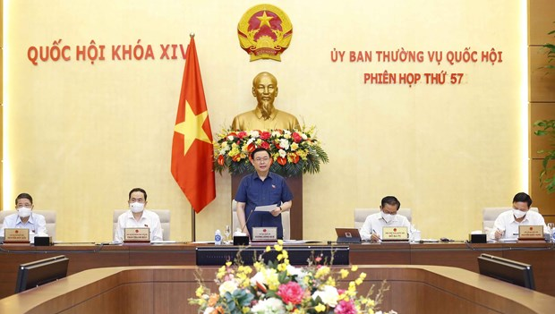 NA Standing Committee convenes 57th meeting hinh anh 1