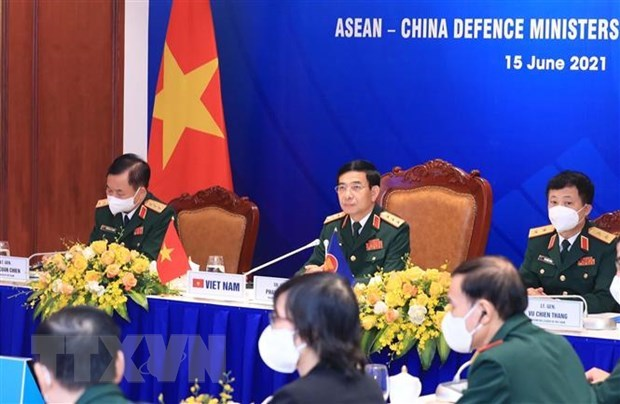 ASEAN-China cooperation important to regional peace, stability: defence minister hinh anh 1