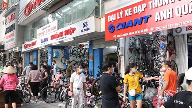 Bicycle sales boom amid pandemic hinh anh 1