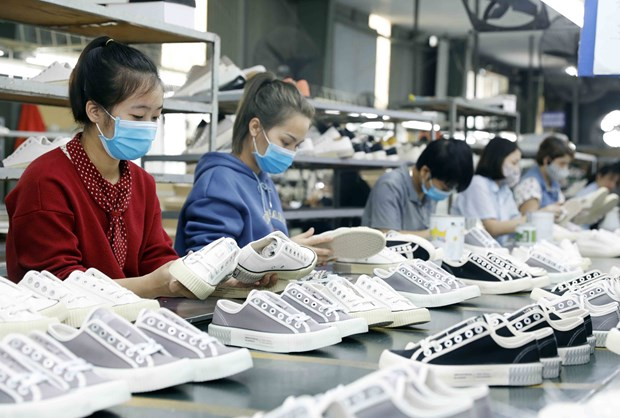 Vietnam's footwear industry sees robust growth despite COVID-19 pandemic hinh anh 1
