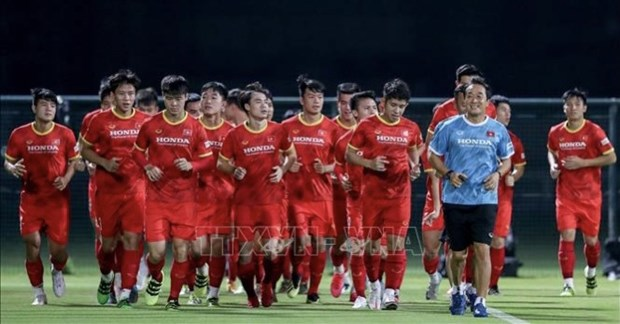 Both Vietnam, UAE determined to gain win in World Cup qualifying match hinh anh 1