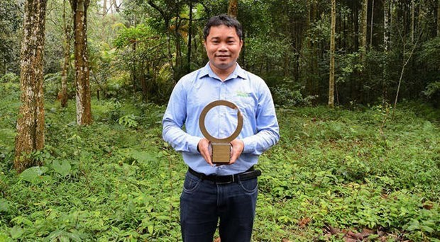 First Vietnamese conservationist receives largest environment award hinh anh 1