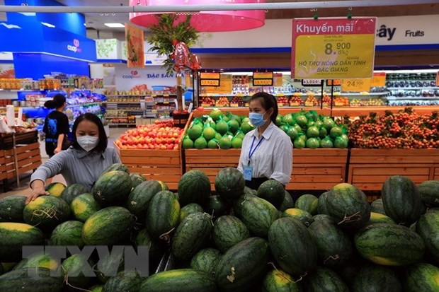 HCM City works to ensure adequate supply of goods amid social distancing hinh anh 1