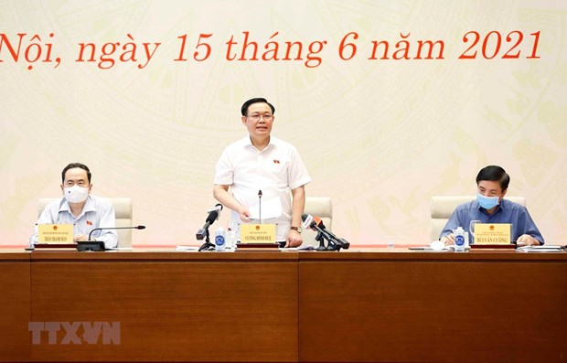 Top legislator congratulates journalists on Revolutionary Press Day hinh anh 1