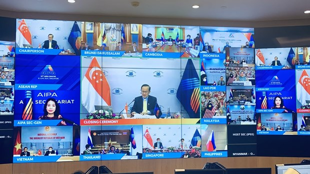 Vietnam attends 12th AIPA Caucus hinh anh 1