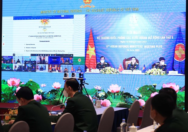 Vietnam attends 8th ASEAN Defence Ministers' Meeting Plus hinh anh 2