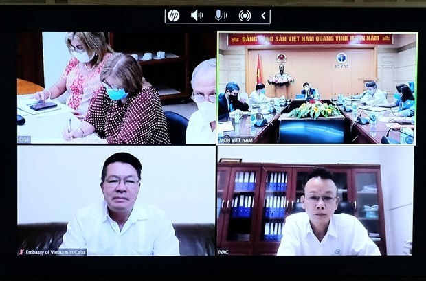 Cuba willing to cooperate with Vietnam in COVID-19 vaccine supply hinh anh 1