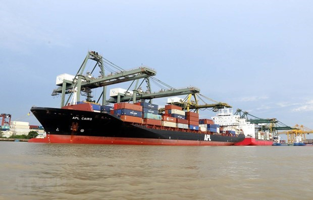 Container goods via seaports up 22 percent in H1 hinh anh 1