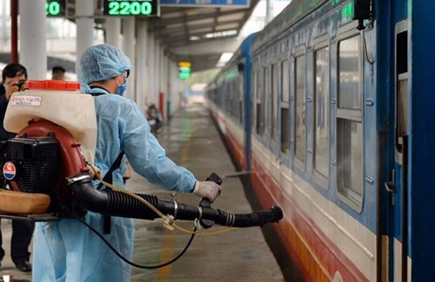 Railway businesses focus on cargo transport to reduce pandemic impacts hinh anh 1
