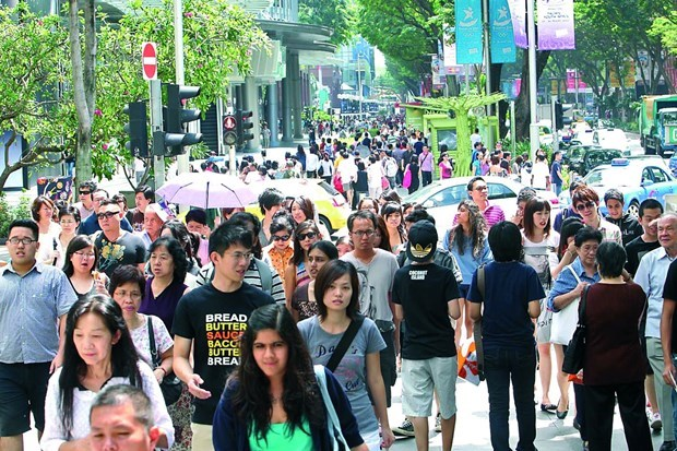 Singapore witnesses decade of slowest population growth hinh anh 1