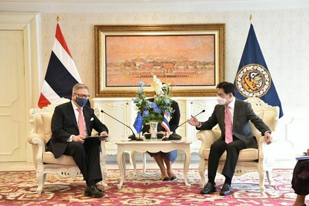 Thailand to resume FTA talks with EU hinh anh 1