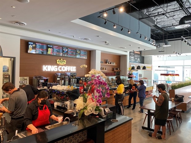Vietnam's TNI King Coffee opens first coffee-chain store in the US hinh anh 1