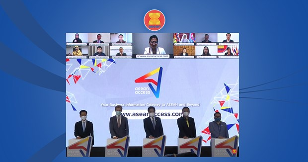 ASEAN's business information gateway debuts hinh anh 1