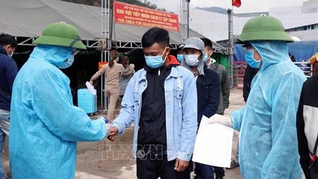 Ha Tinh halts receiving Vietnamese returnees via Cau Treo border gate hinh anh 1