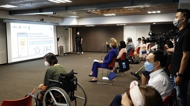 Smartphone app launched to aid persons with disabilities hinh anh 1